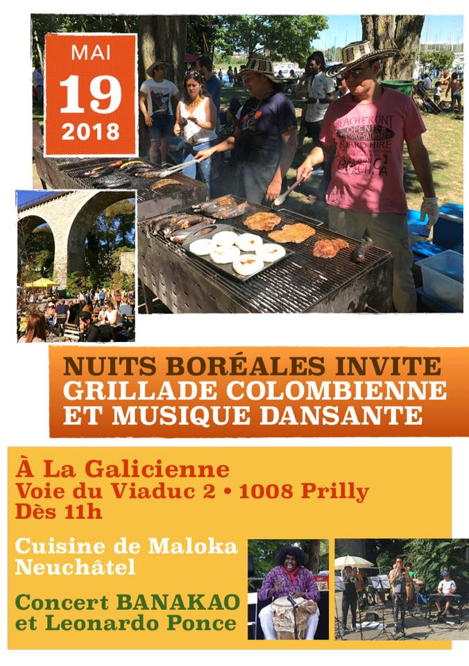 Grillade colombienne